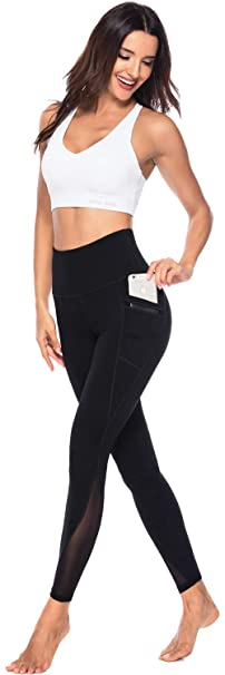 #2. Persit Mesh Sexy Yoga Pants