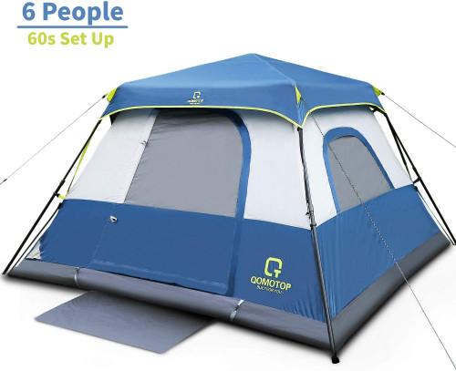 #2. QT QOMOTOP PU 5 People Camping Tent