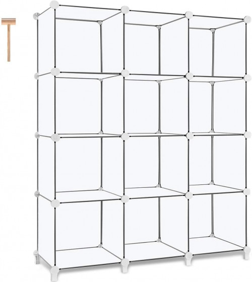 #2. TOMCARE 12-cube organizer