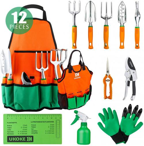 #2. Ukoke Garden Tool Sets