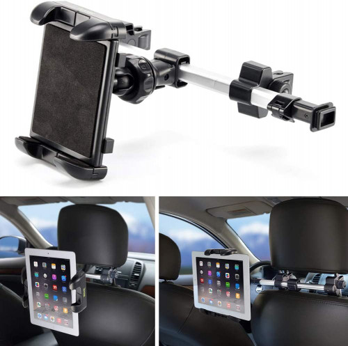 #2. iKross iPad Holders for Car with Extendable Mount