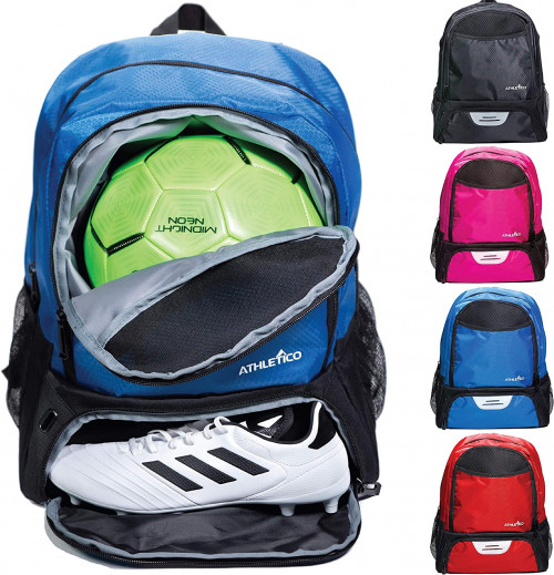 #2.Athletico Youth Soccer Bag