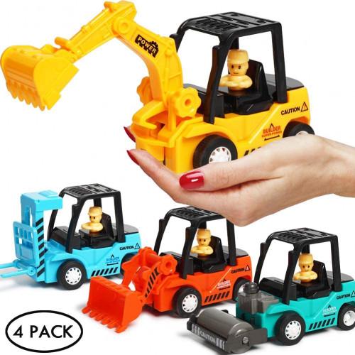#3. Construction Toys 4 Pack Set