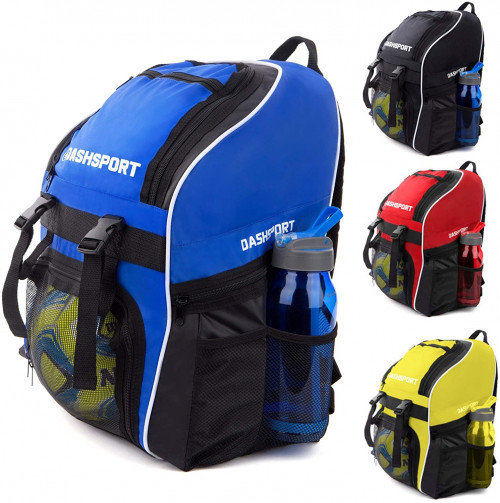 #3. Dash Sport Soccer Backpack for Youth and Kids