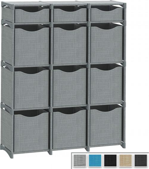 #3. NEATERIZE 12-cube organizer