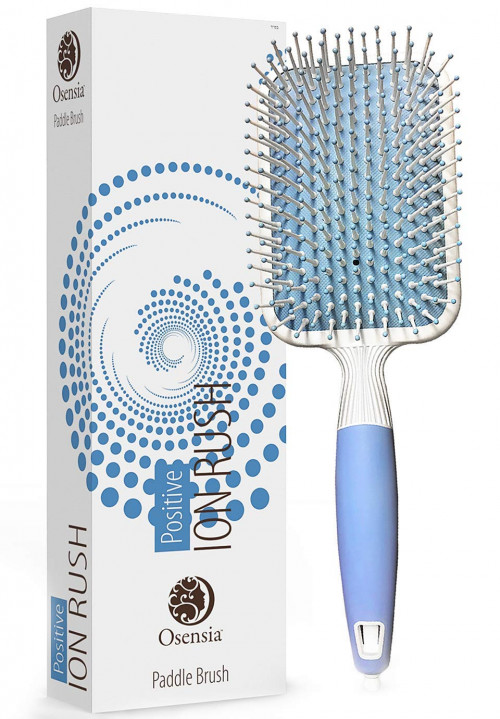 #3. Osensia Ionic hairbrush for Men and Women