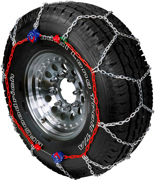 #3. Peerless SUV Traction Tire Chains - Set of 2