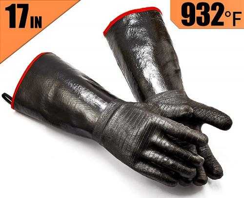 #3. RAPICCA Cotton bbq Gloves