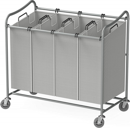 3. Simple Houseware Durable Laundry Sorter