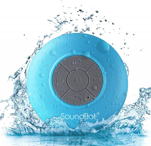 #3. SoundBot HD Hands-free Shower Speaker