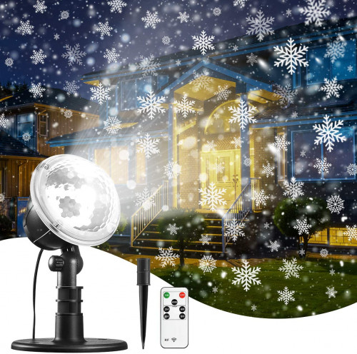 #3. TRODEEM Christmas Projection Lights with RemoteControl