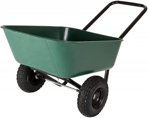 #4. Garden Star 2 Wheel Wheelbarrow