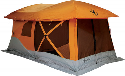 #4. Gazelle Instant Polyester 5 People Camping Tent