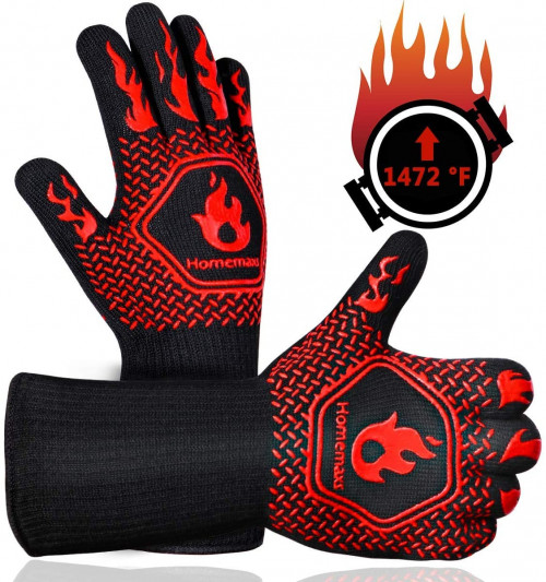 #4. Homemaxes bbq Gloves