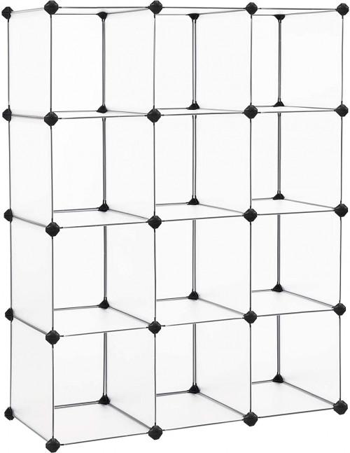 #4. SONGMICS 12-cube organizer