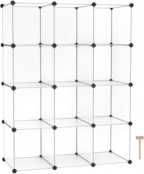 #5. C&AHOME 12-cube organizer