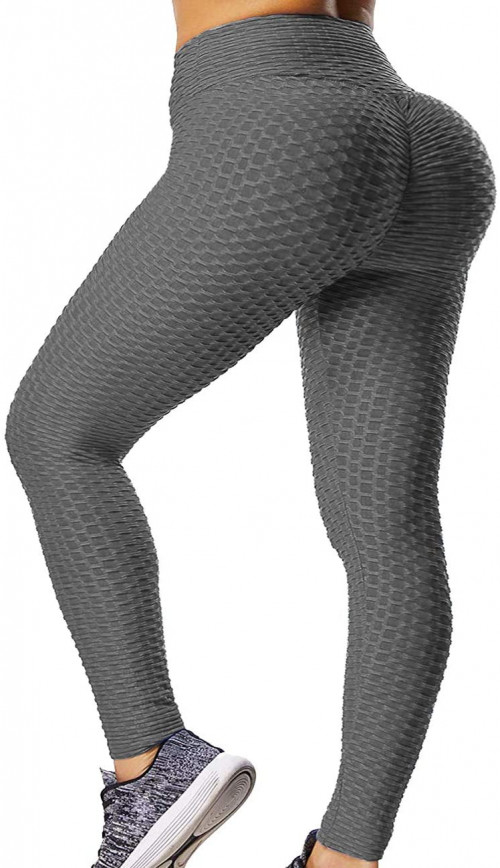 #5. GILLYA Textured Sexy Yoga Pants