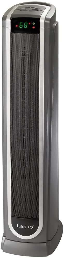 #5. Lasko Heater Tower with Digital Thermostat