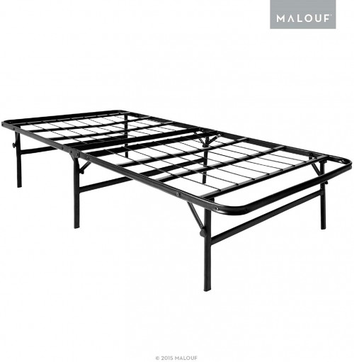 #5. Malouf Steel Foldable Bed Frame