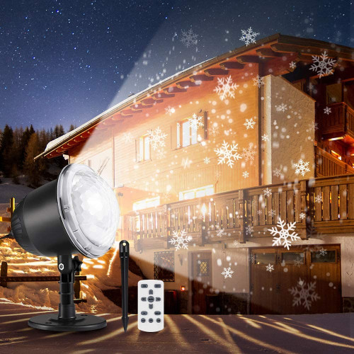 #5. Outlife Waterproof Christmas Projection Lights