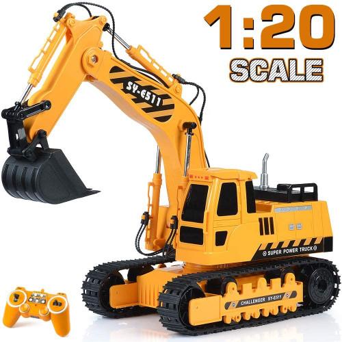 #6. DOUBLE E Remote Control Excavator