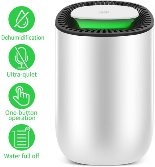 #6. Honati Energy-efficient Small Dehumidifier