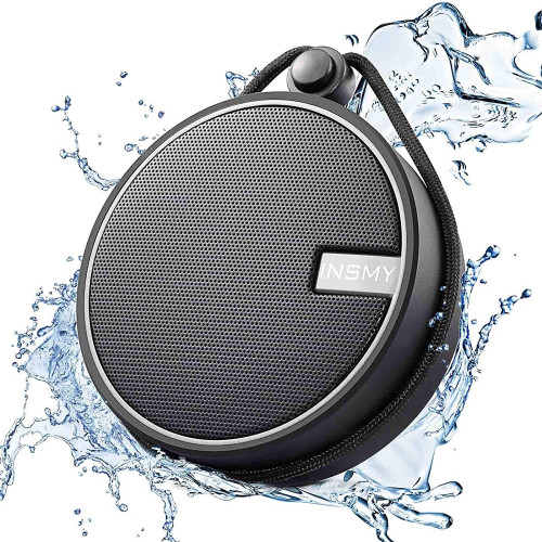 #6. INSMY Bluetooth Shower Speaker
