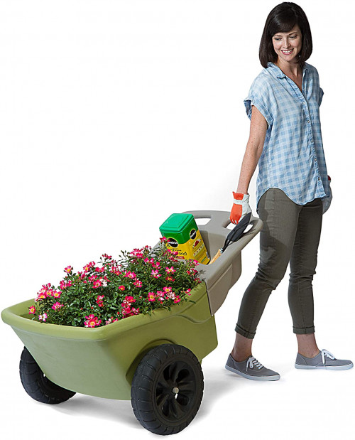 #6. Simply3 2 Wheel Wheelbarrow