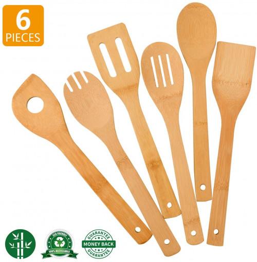 #6. Zhuoyue Bamboo Wooden Utensils