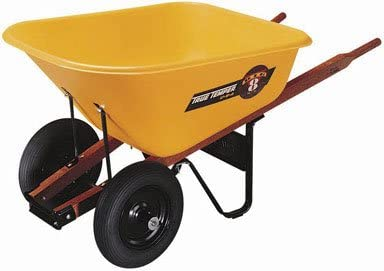 #7. AMES 2 Wheel Wheelbarrow
