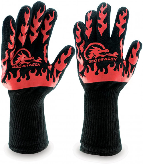 #7. BBQ Dragon bbq Gloves