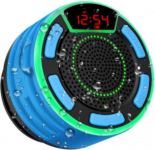 #7. BassPal Waterproof Shower Speaker