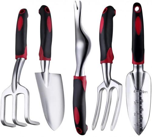 #7. FANHAO Garden Tool Sets