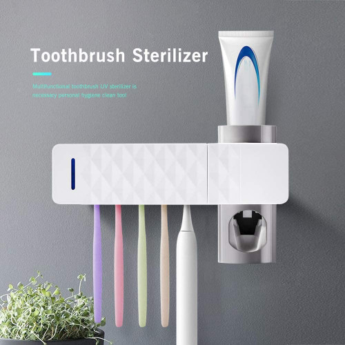 #7. Houkipier UV Toothbrush Sanitizer - 23