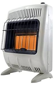 #7. Mr. Heater Natural Gas Heater with ODS
