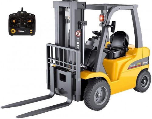#7. Top Race Jumbo Remote Control Excavator Forklift