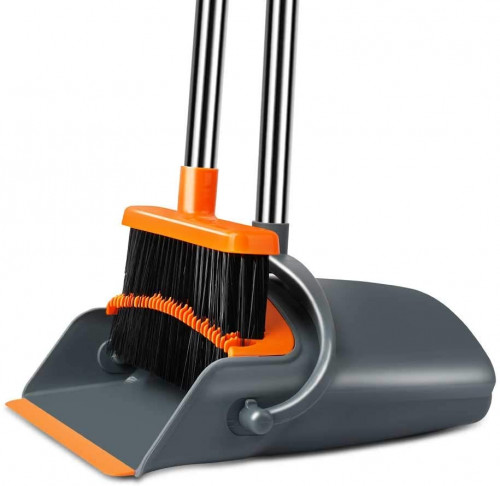 #8. Chouqing Self-cleaning Brooms and Dustpans