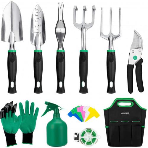 #8. GIGALUMI Garden Tool Sets