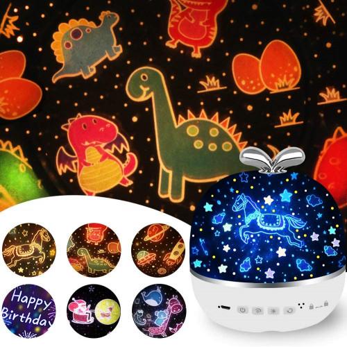 #8. JBonest Star Night Light Projector