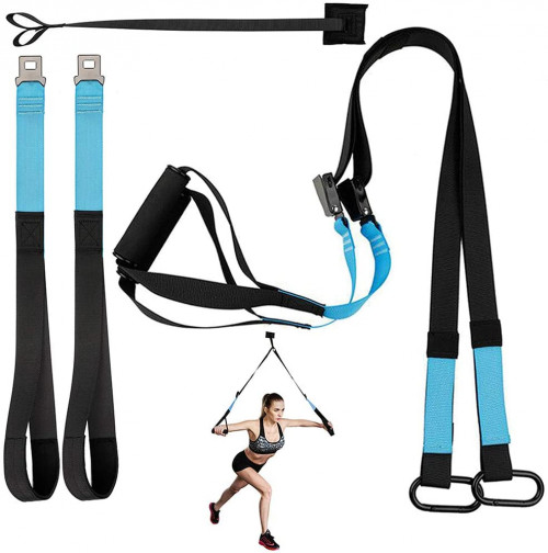 #8. KEAFOLS Adjustable Suspension Training Straps