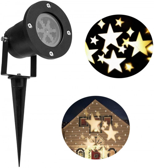 #8. LIGHTESS LED Christmas Projection Lights