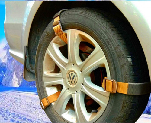 #8. Newest Easy Snow Tire Chains Heavy Duty for Truck Pickup