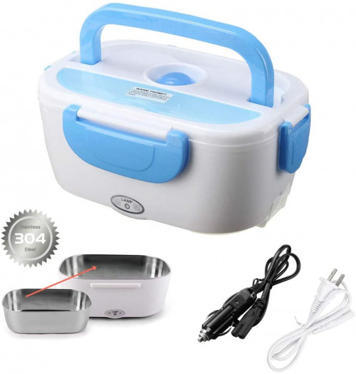 #8. Suteng Electric Lunch Box with Compartments