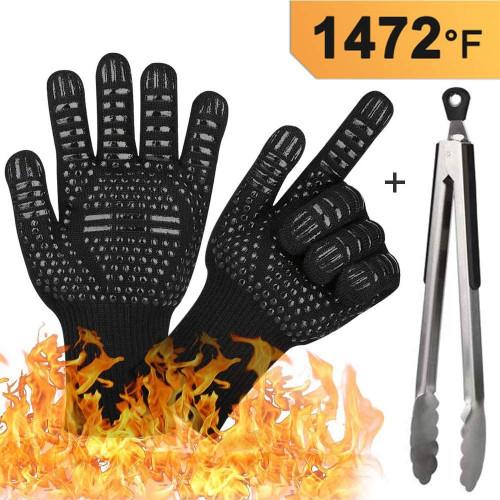 #8. Tocode bbq Heat-resistant Gloves