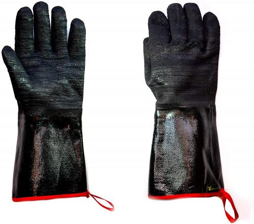 #9. G & F Products Non-slip bbq Gloves