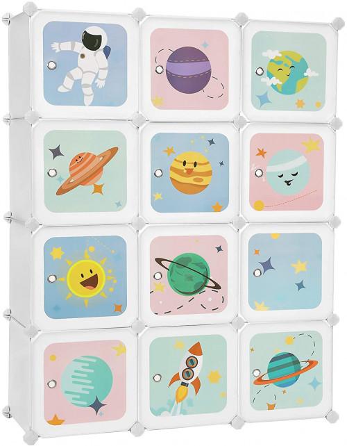 #9. SONGMICS kid 12-cube organizer