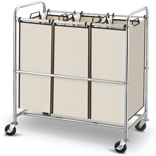 #9. Simple Trending Portable Laundry Sorter