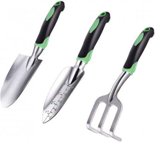 #9. ZUZUAN Garden Tool Sets