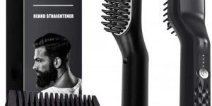 Arkam Compact Beard Straightener Comb