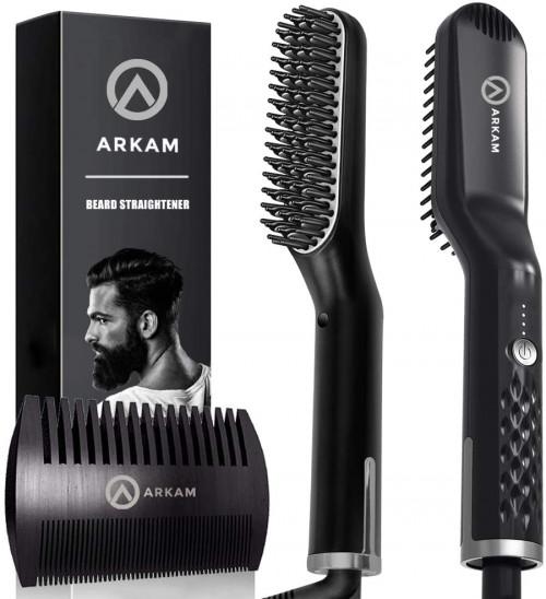 Arkam Compact Beard Straightener Comb